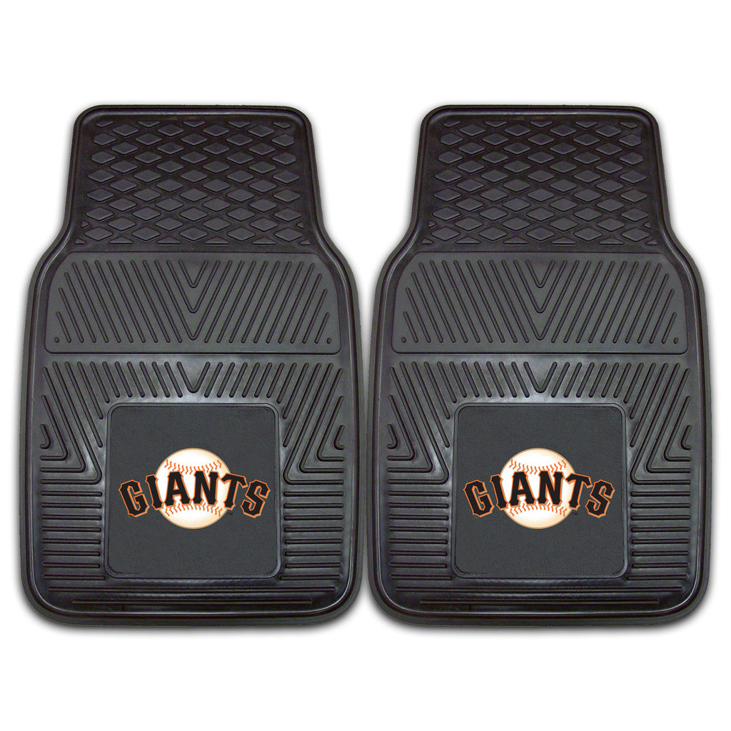 San Francisco Giants 2-pc Vinyl Car Mat Set