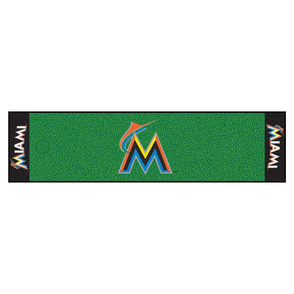 Miami Marlins Putting Green Mat