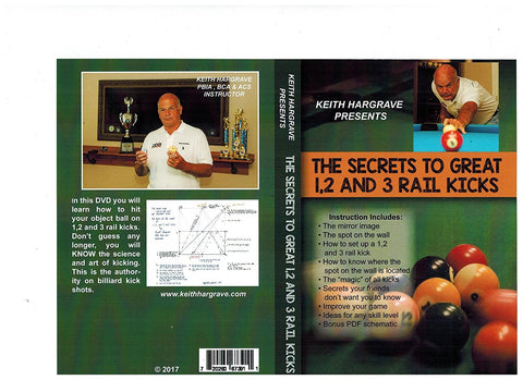 The Secrets to Great 1,2 and 3 rails kicks DVD
