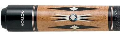 Action Exotics 54 Custom Pool Cue