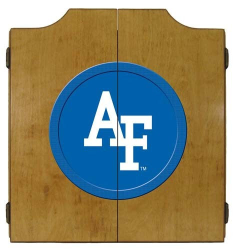 Air Force Academy Dartboard Cabinet
