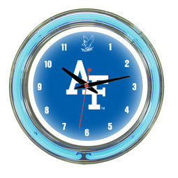 "Air Force Falcons 14"" Neon Clock"