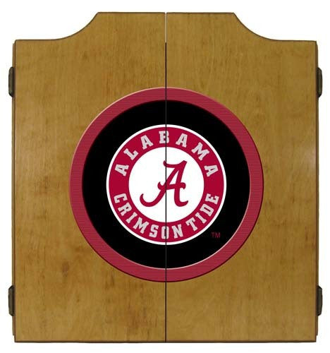 Alabama Crimson Tide Dartboard Cabinet
