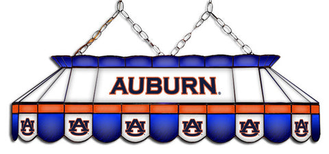 Auburn Tigers Stained Glass Pool Table Light