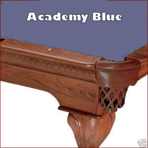 Pro 8' Oversized Proline Classic 303T Teflon Pool Table Felt - Academy Blue