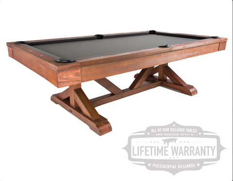 Presidential Albany Pool Table - coolpooltables.com