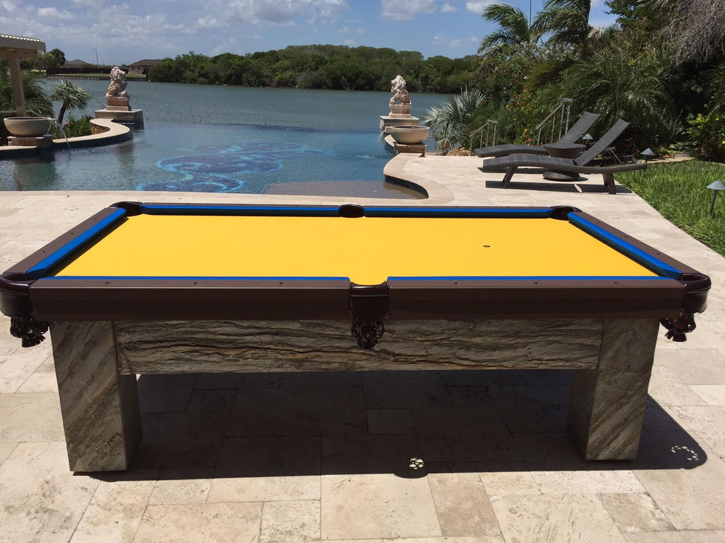 All Weather Artisan Outdoor Pool Table   Coolpooltables.com