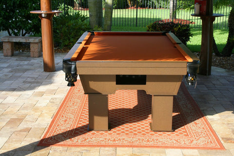 All Weather Caesar Outdoor Pool Table - coolpooltables.com