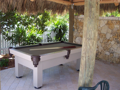 All Weather Orion Outdoor Pool Table - coolpooltables.com