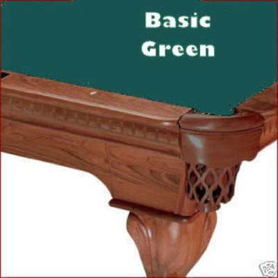 7' Proline Classic 303T Teflon Pool Table Felt - Basic Green