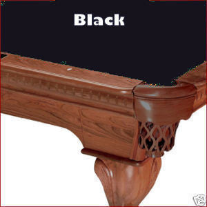 Pro 8' Oversized Proline Classic 303 Pool Table Felt - Black