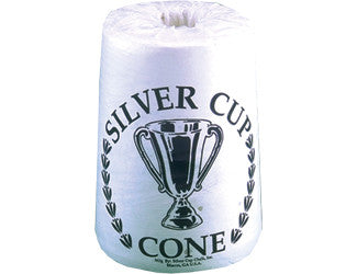 Silver Cup Cone Talc Hand Chalk - Box of 6