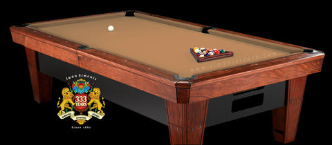 7' Simonis 860 Pool Table Cloth - Camel