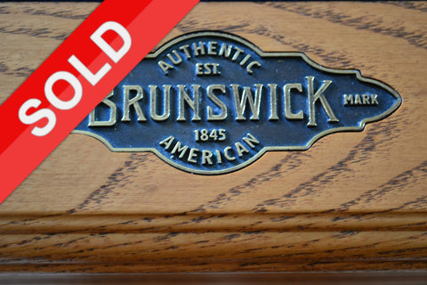 Brunswick Brookstone Used Furniture Style Pool Table