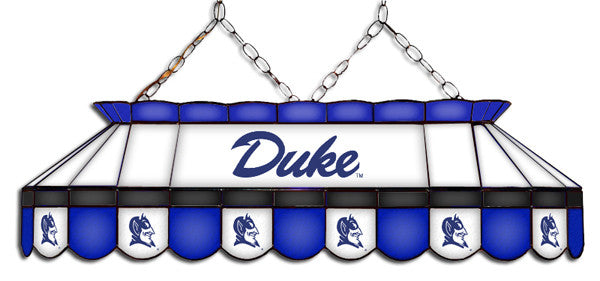 Duke Blue Devils Stained Glass Pool Table Light