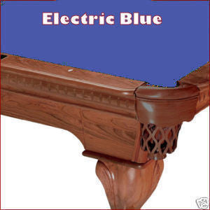 9' Proline Classic 303T Teflon Pool Table Felt - Electric Blue