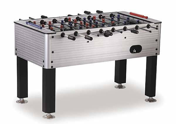 Level Best Chrome Finish Foosball Table