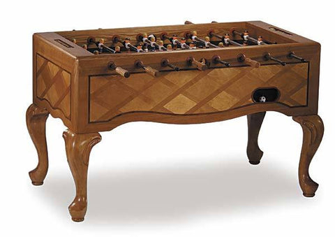 Level Best Classic Oak Furniture Style Foosball Table