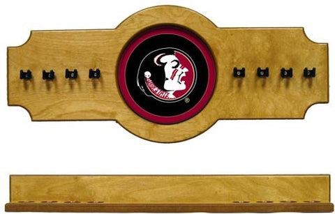 Florida State Seminoles 2-Piece Hanging Cue Rack