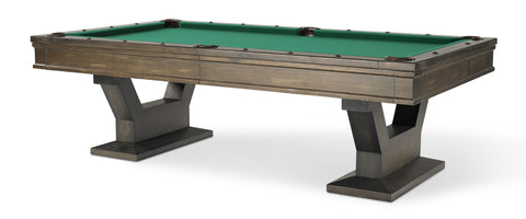 Plank & Hide Gaston Pool Table - coolpooltables.com