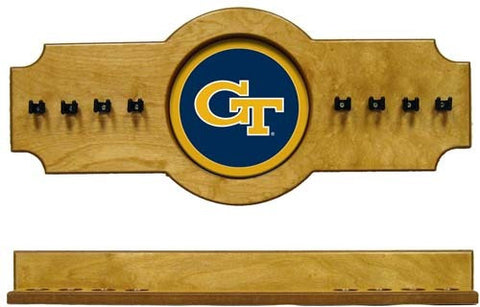 Georgia Tech Yellow Jackets 2-Piece Hanging Cue Rack