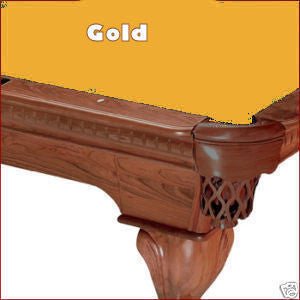 7' Proline Classic 303 Pool Table Felt - Gold