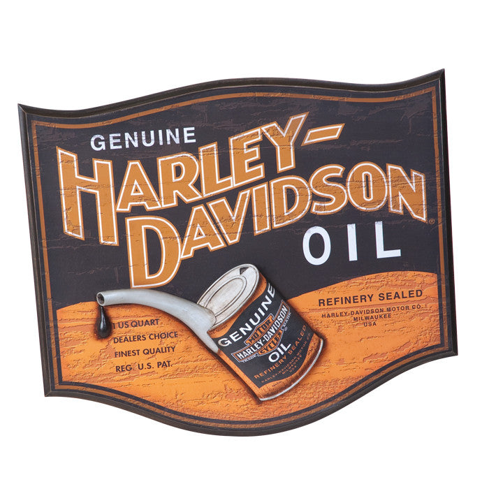 Harley-Davidson¨ Oil Can Pub Sign
