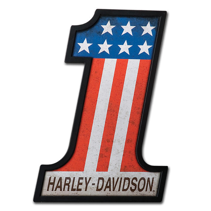 Harley-Davidson¨ #1 Racing Pub Sign