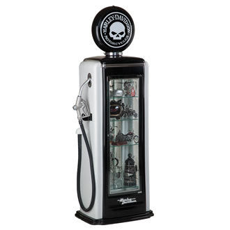 Harley-Davidson¨ Skull Gas Pump Display Case