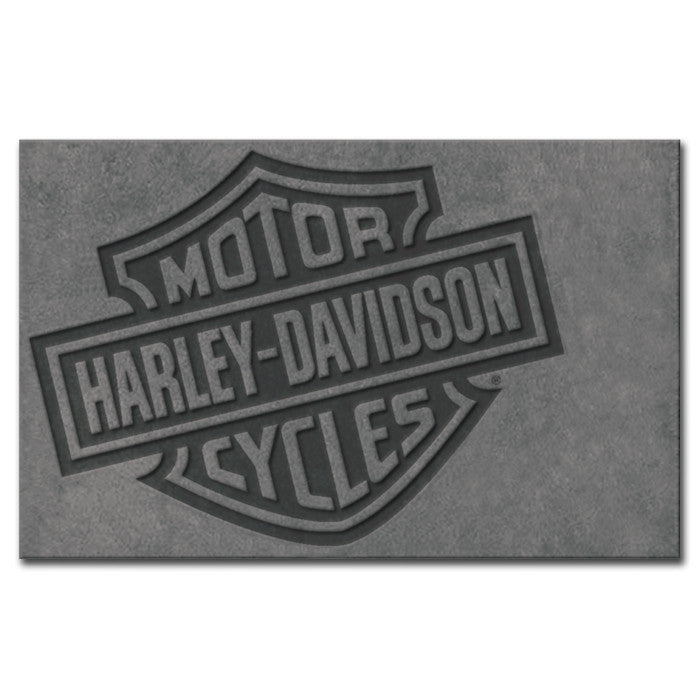 Harley-Davidson¨ Bar & Shield Large Area Rug - 8' x 5'