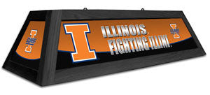 "Illinois Fighting Illini 42"" Pool Table Light"