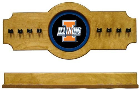 Illinois Fighting Illini 2-Piece Hanging Cue Rack