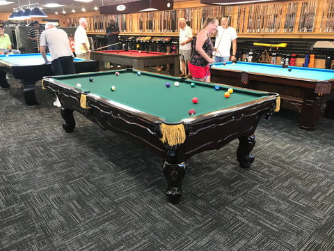 Used 9' Brunswick Orleans Pool Table