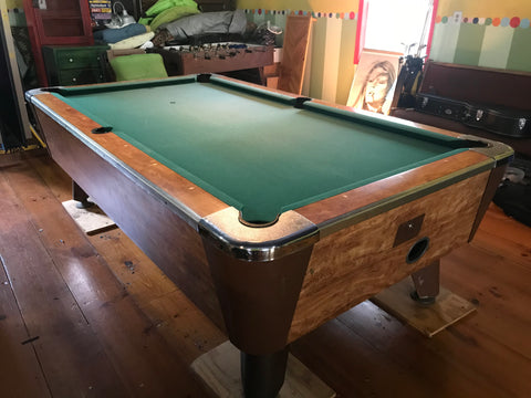 Used 8' Valley Pool Table