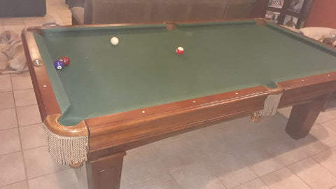 Used 8' Beringer Pool Table
