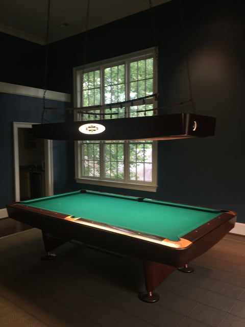 Used 9' Brunswick Gold Crown IV Pool Table (Consignment)