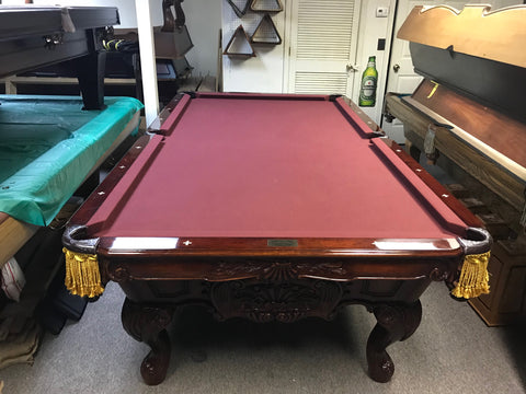 Used Charles A Porter Renaissance 9' Pool Table