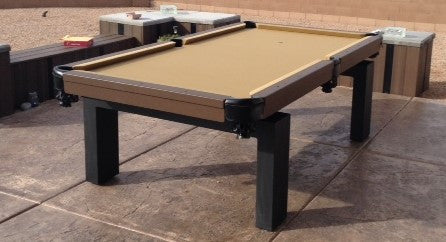 All Weather Riley Outdoor Pool Table - coolpooltables.com