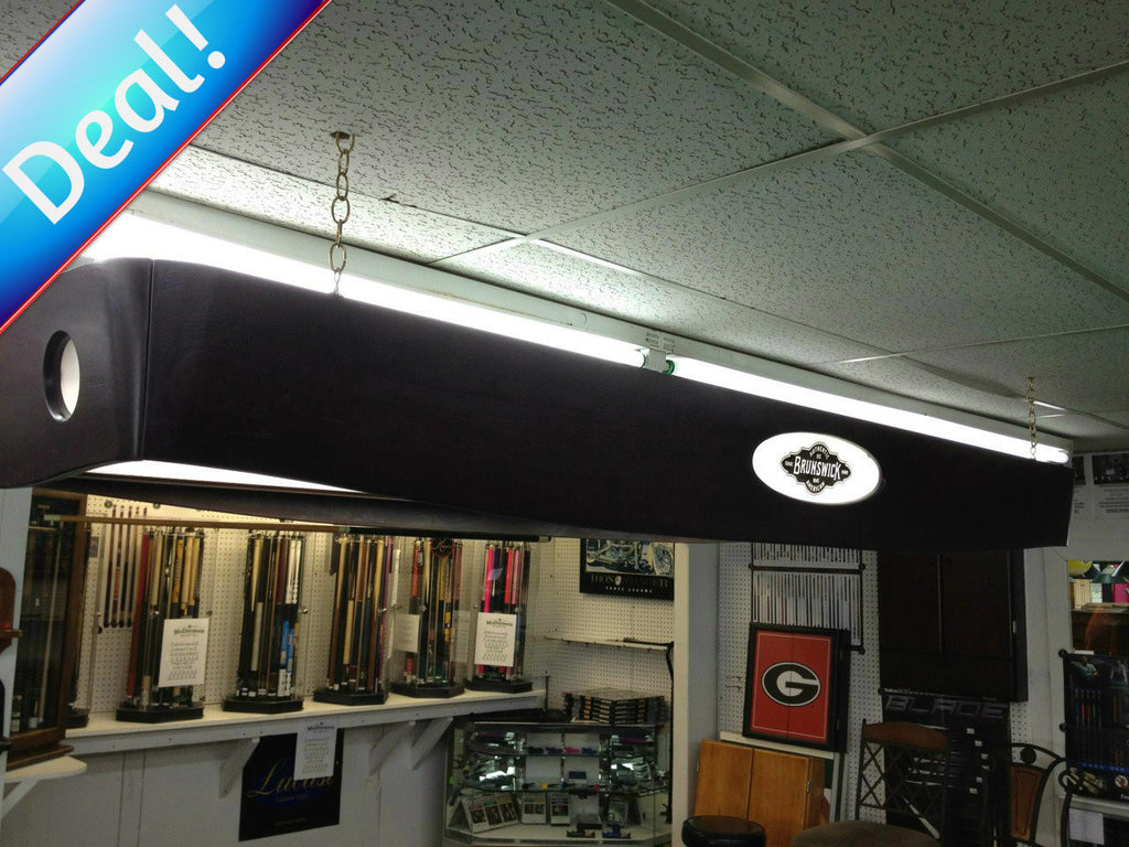 Used Brunswick Gold Crown Pool Table Light