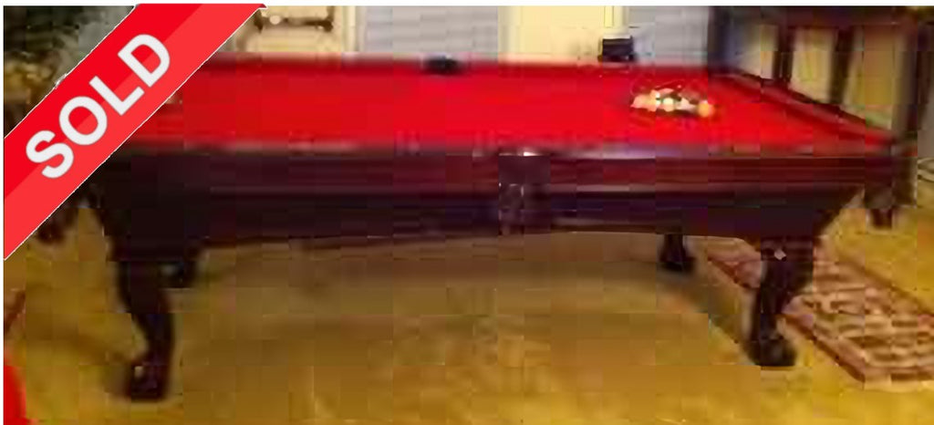 (SOLD) Used Pro 8' ProLine Pool Table