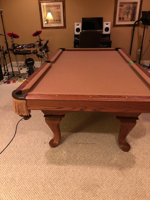 Used 8 Brunswick Pool Table At Everything Billiards Greensboro >> Sold Used 8 Steepleton Pool Table Consignment Coolpooltables Com