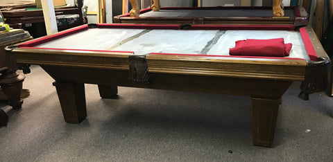 (SOLD) Used Leisure Bay 8' Pool Table