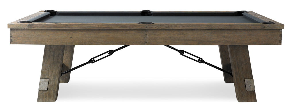 Plank & Hide Isaac Pool Table - coolpooltables.com
