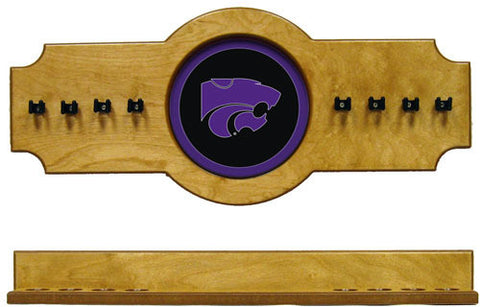 Kansas State Wildcats 2-Piece Hanging Cue Rack