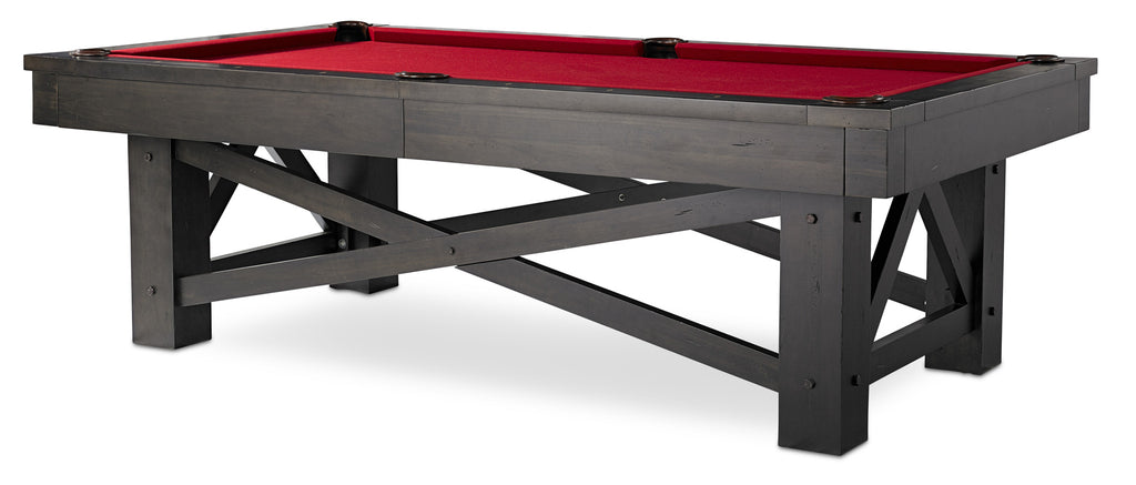 Plank & Hide McCormick Pool Table - coolpooltables.com