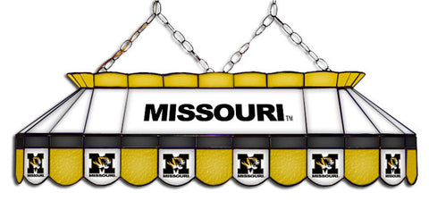 Missouri Tigers Stained Glass Pool Table Light