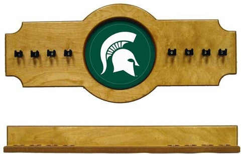 Michigan State Spartans 2-Piece Hanging Cue Rack