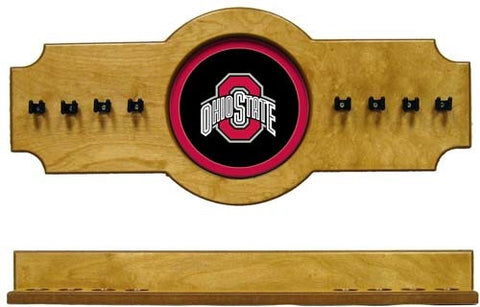 Ohio State Buckeyes 2-Piece Hanging Cue Rack
