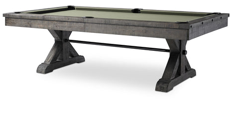 Plank & Hide Otis Pool Table - coolpooltables.com