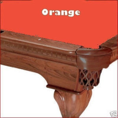 8' Proline Classic 303T Teflon Pool Table Felt - Orange
